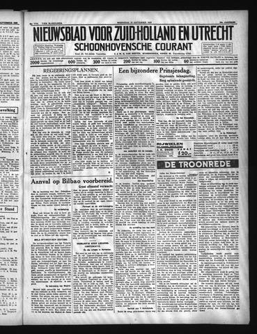 Schoonhovensche Courant 1936-09-16