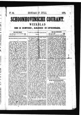 Schoonhovensche Courant 1870-07-17