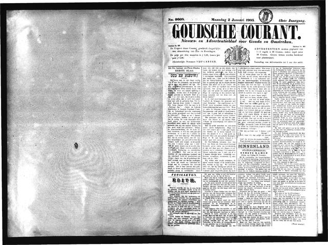 Goudsche Courant 1905