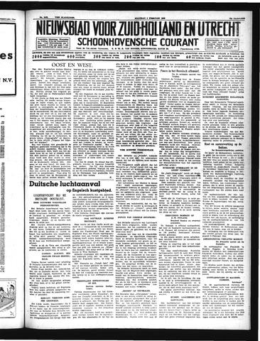 Schoonhovensche Courant 1940-02-05