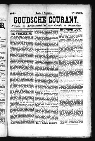 Goudsche Courant 1882-11-05