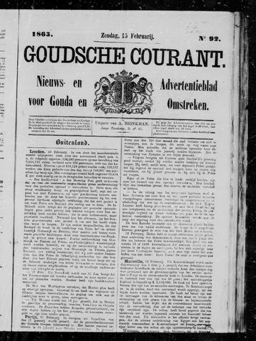 Goudsche Courant 1863-02-15