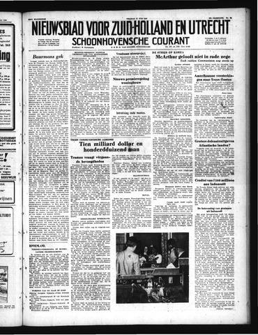 Schoonhovensche Courant 1950-07-21