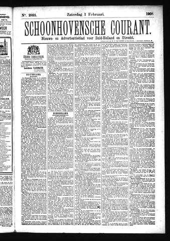 Schoonhovensche Courant 1908-02-01