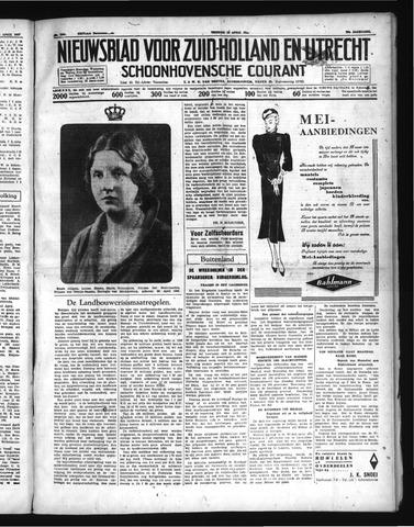Schoonhovensche Courant 1937-04-30