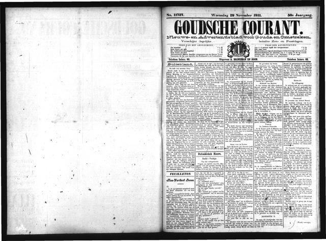 Goudsche Courant 1911-11-29