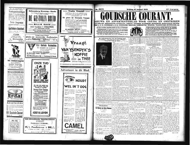 Goudsche Courant 1929-01-18
