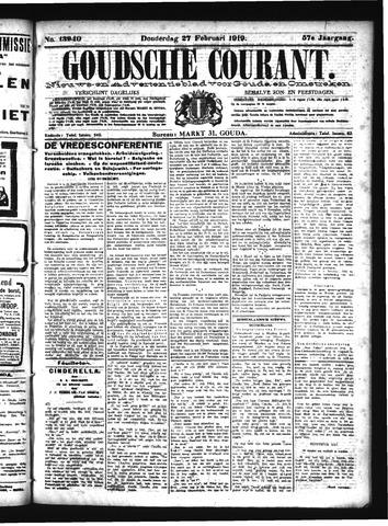 Goudsche Courant 1919-02-27