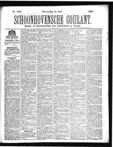 Schoonhovensche Courant 1906-07-18