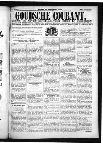 Goudsche Courant 1933-09-22
