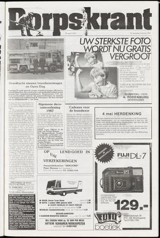 Dorpskrant 1987-04-29