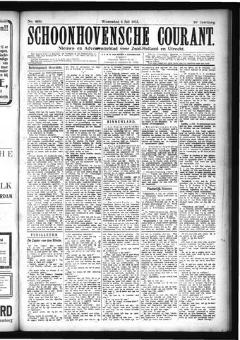 Schoonhovensche Courant 1923-07-04