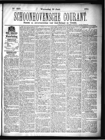 Schoonhovensche Courant 1914-06-10