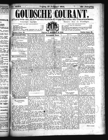 Goudsche Courant 1914-02-27