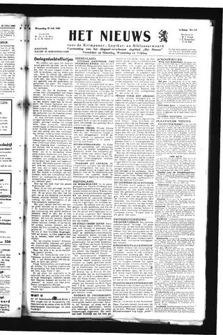 Schoonhovensche Courant 1945-07-25