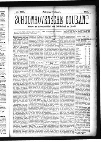 Schoonhovensche Courant 1895-03-02