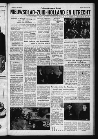 Schoonhovensche Courant 1961-01-23