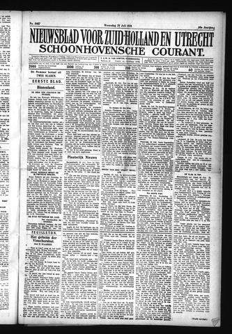 Schoonhovensche Courant 1928-07-25