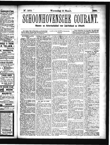 Schoonhovensche Courant 1899-03-15