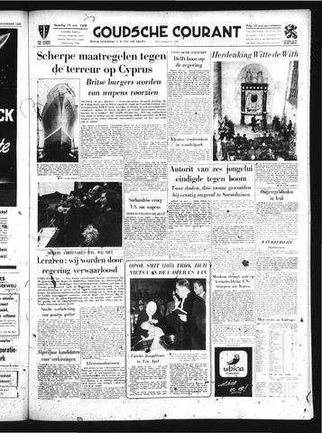 Goudsche Courant 1958-11-10