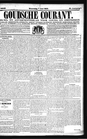 Goudsche Courant 1922-06-07