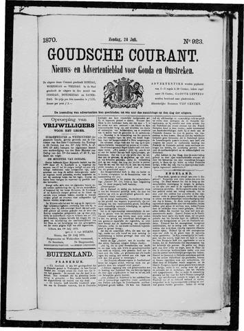 Goudsche Courant 1870-07-24