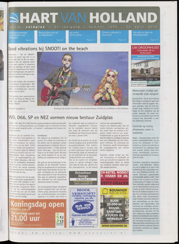 Hart van Holland - Editie Zuidplas 2014-04-23