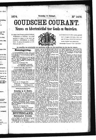Goudsche Courant 1874-02-11