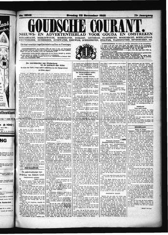 Goudsche Courant 1932-11-22