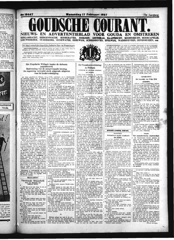 Goudsche Courant 1937-02-17