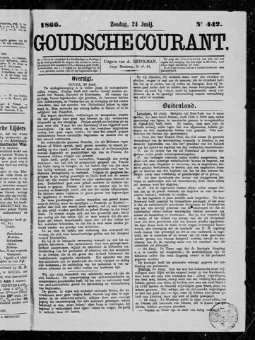 Goudsche Courant 1866-06-24