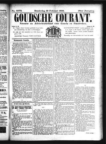 Goudsche Courant 1910-02-10