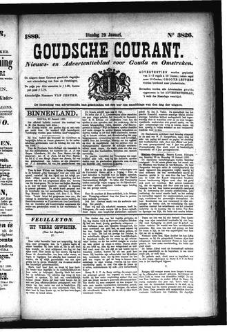 Goudsche Courant 1889-01-29