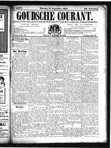 Goudsche Courant 1914-09-15