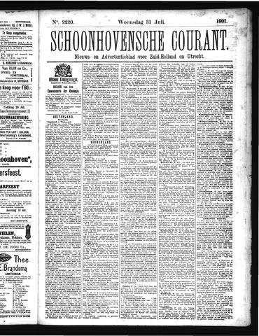 Schoonhovensche Courant 1901-07-31