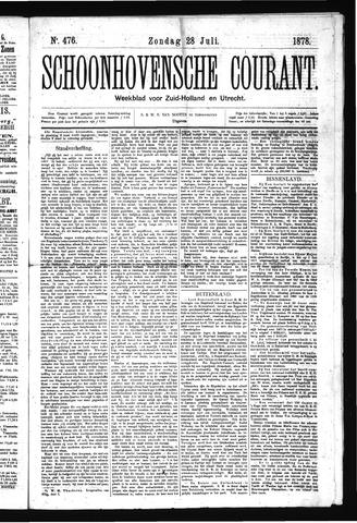 Schoonhovensche Courant 1878-07-28