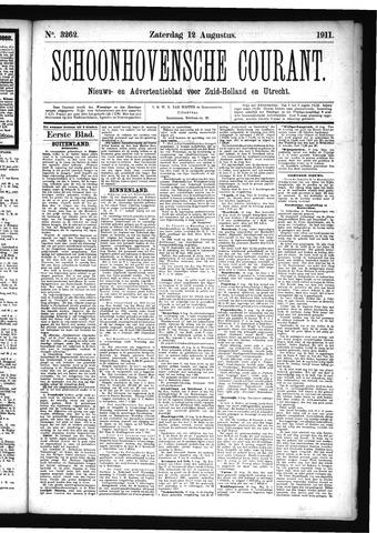 Schoonhovensche Courant 1911-08-12
