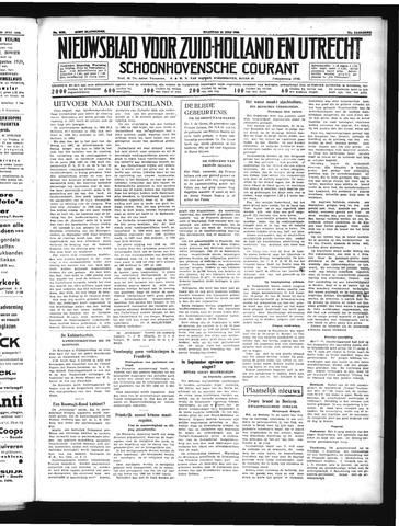 Schoonhovensche Courant 1939-07-31