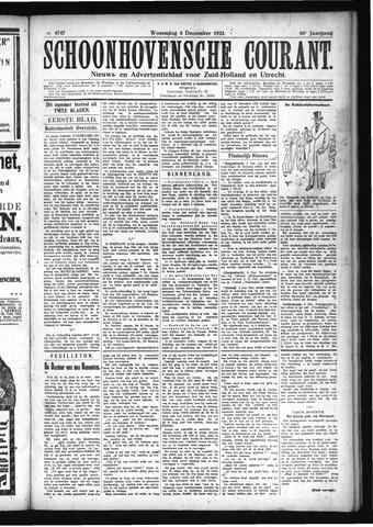 Schoonhovensche Courant 1923-12-05