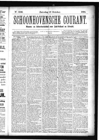 Schoonhovensche Courant 1894-10-27