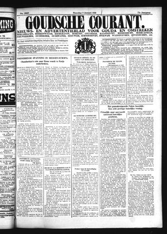 Goudsche Courant 1939-01-09
