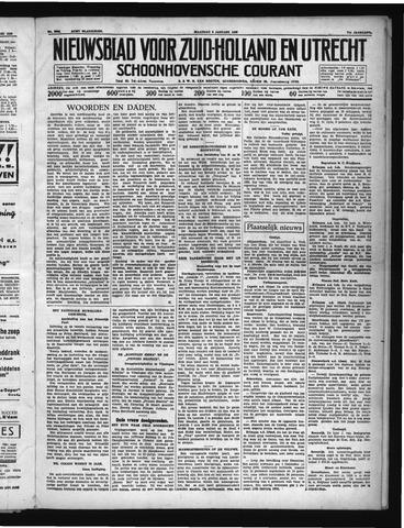 Schoonhovensche Courant 1939-01-09