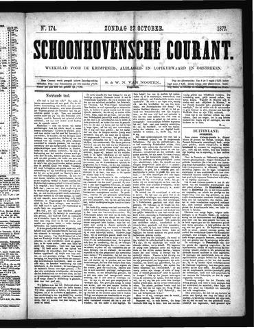 Schoonhovensche Courant 1872-10-27