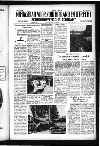 Schoonhovensche Courant 1957-04-24
