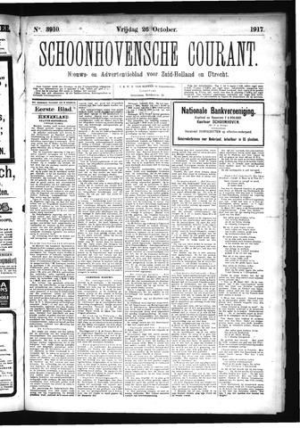 Schoonhovensche Courant 1917-10-26