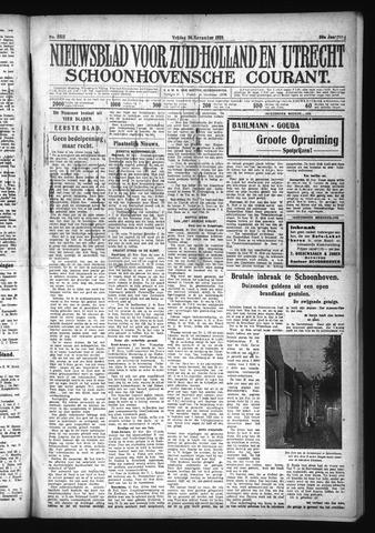 Schoonhovensche Courant 1928-11-30