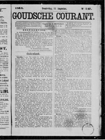 Goudsche Courant 1864-08-11
