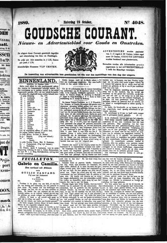Goudsche Courant 1889-10-19