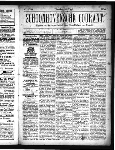 Schoonhovensche Courant 1916-06-20