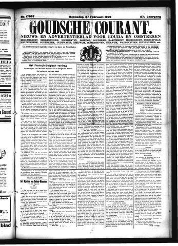 Goudsche Courant 1929-02-27